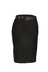 Fotografia typu duch – czarna spódnica