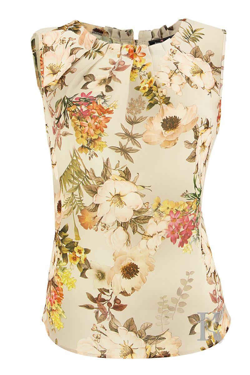 Packshot na niewidzialnym manekinie – bluzka damska bez rękawów