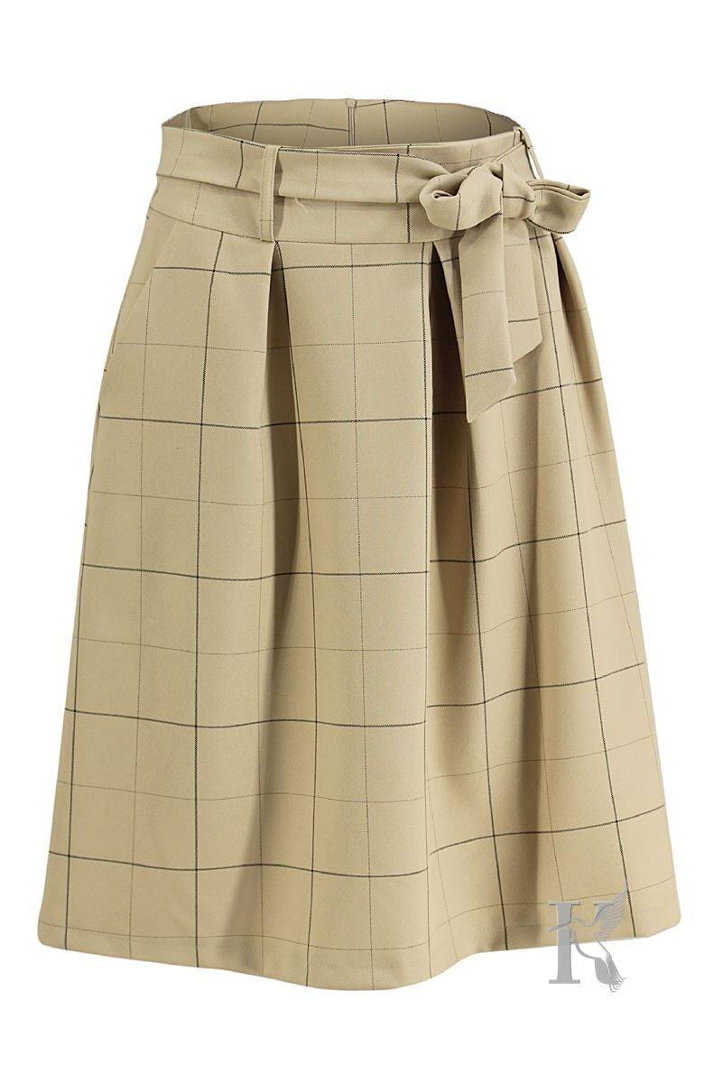 Packshot na niewidzialnym manekinie - spódnica w kratę